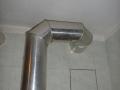 odtah od plynového spotřebiče - hliník