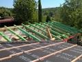 vazba - pultová střecha