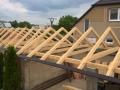 vazba - sedlová střecha